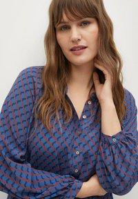 Violeta by Mango - METRIC - Shirt dress - blau - 3