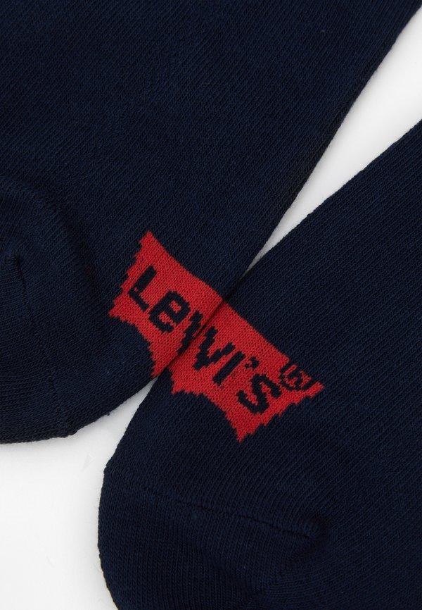Levi's® LOW CUT BATWING LOGO 3 PACK - Skarpety - navy/granatowy Odzież Męska MVYH