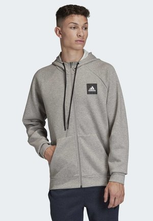 MUST HAVES STADIUM HOODIE - Sweatjacke - grey
