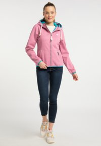 Schmuddelwedda - Outdoor jacket - pink melange - 1
