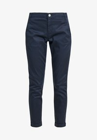 Vila - VICHINO RWRE 7/8 NEW PANT-NOOS - Chinos - total eclipse - 4