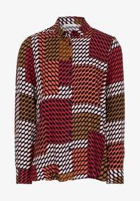 Eterna - Button-down blouse - rot/braun/rosa - 3