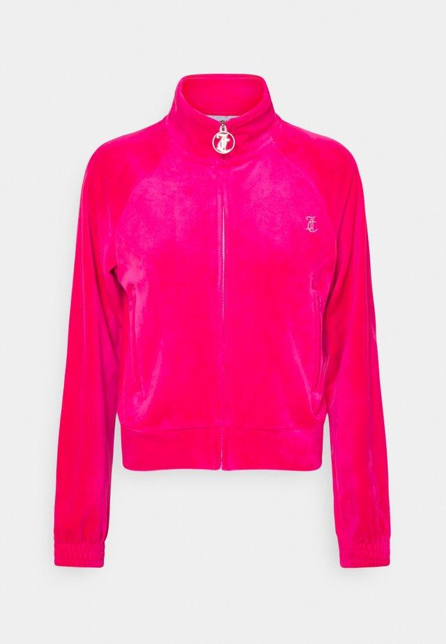 TANYA - Zip-up hoodie - pink glo