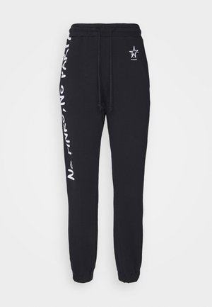 ENOLOGIA - Tracksuit bottoms - black