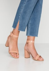 Glamorous Wide Fit - High heeled sandals - nude - 0