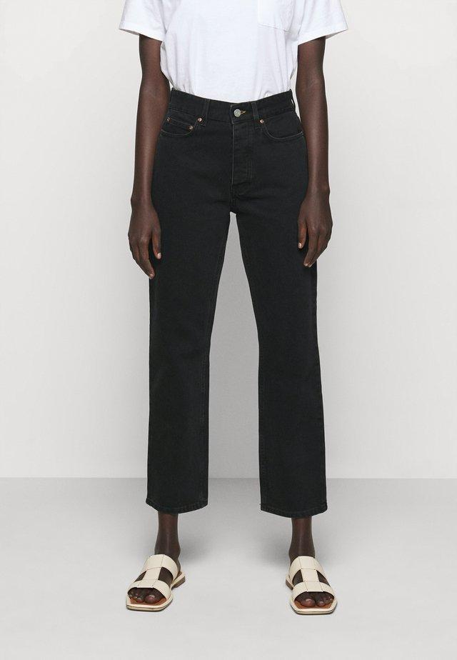 PEARL  - Jeans straight leg - dark grey