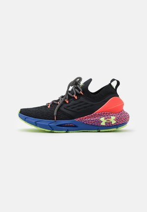 HOVR PHANTOM 2 GLOW - Neutral running shoes - black/beta/lime fizz