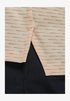 Polo shirt - crimson tint/black