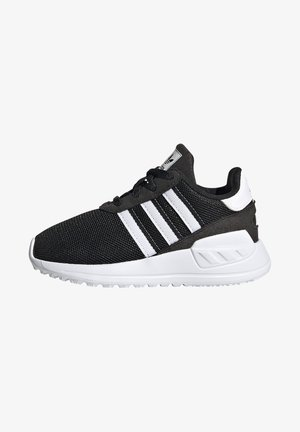 LA TRAINER LITE SHOES - Sneaker low - core black/ftwr white/core black