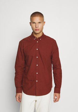 LIAM SHIRT - Shirt - cherry mahogany