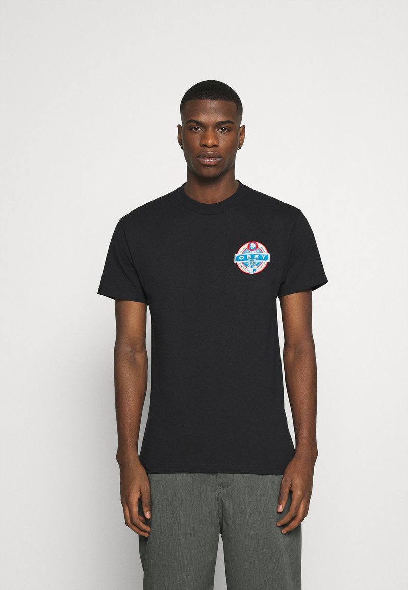 Obey Clothing - PURVEYORS OF DISSENT - Print T-shirt - black