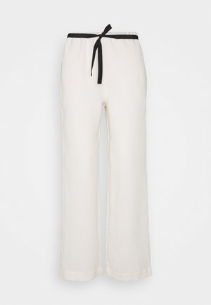 3D TROUSER - Pantaloni - ecru