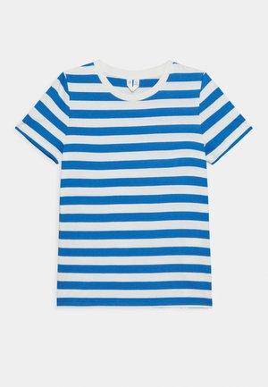 T-Shirt - Print T-shirt - blue/white