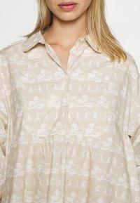 Wood Wood - JANICA DRESS - Sukienka koszulowa - beige - 5