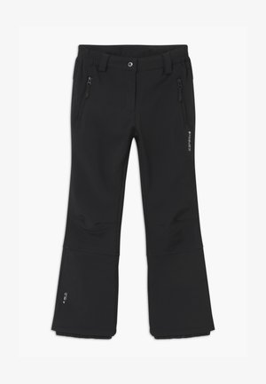 LENEXA UNISEX - Snow pants - black