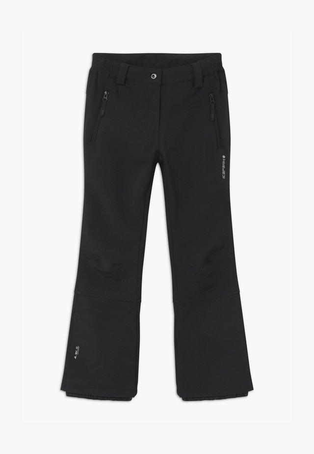 LENEXA UNISEX - Pantalon de ski - black