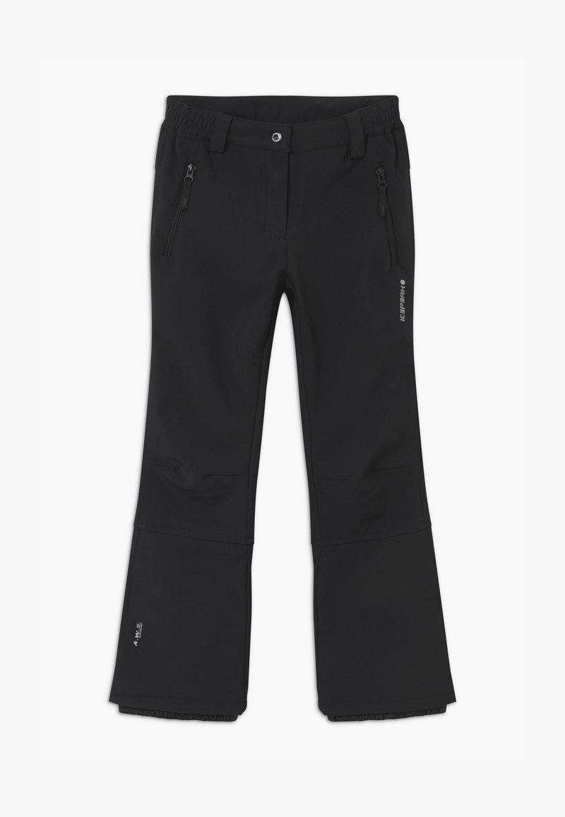 Icepeak - LENEXA UNISEX - Snow pants - black
