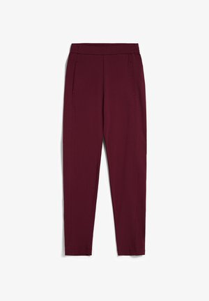 MAGDAA - Trousers - ruby red