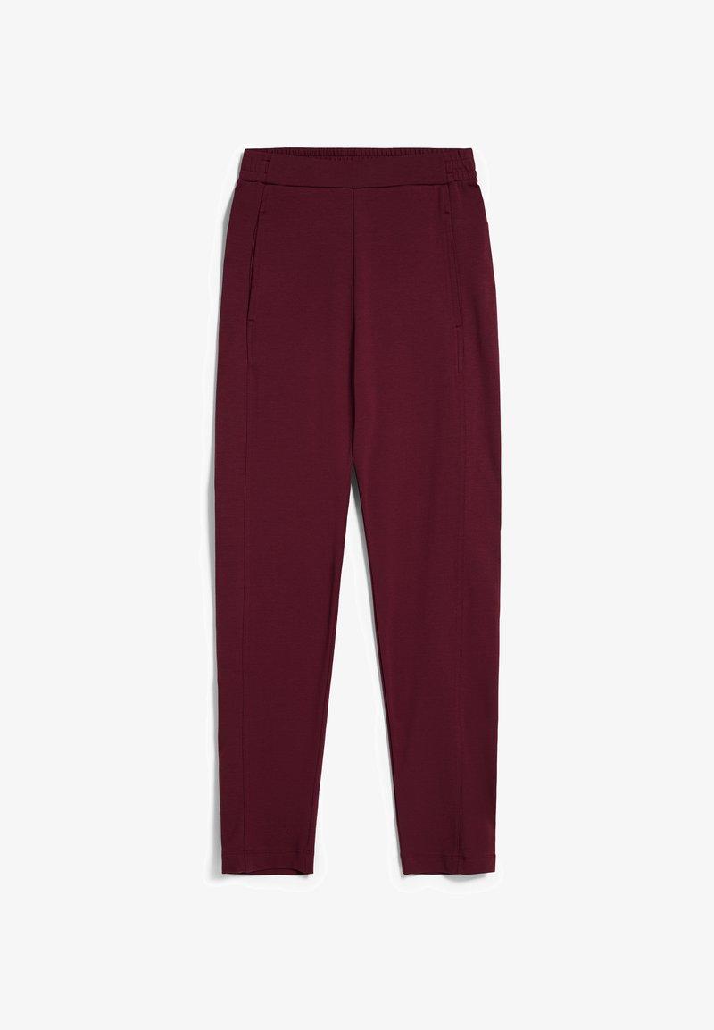 ARMEDANGELS - MAGDAA MAGDAA - Trousers - ruby red