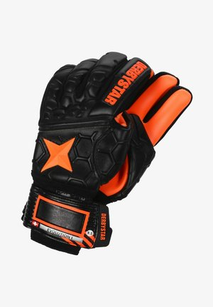 EVOLUTION - Goalkeeping gloves - schwarz / orange