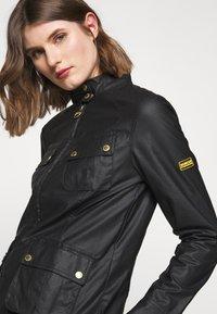 Barbour International - THUNDERBOLT CASUAL - Summer jacket - black - 4