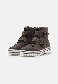 Jana - Platform ankle boots - graphite - 2