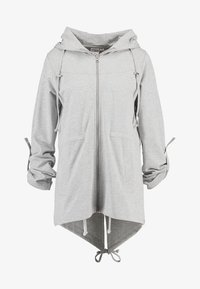Urban Classics - LADIES TERRY  - Zip-up hoodie - grey - 7