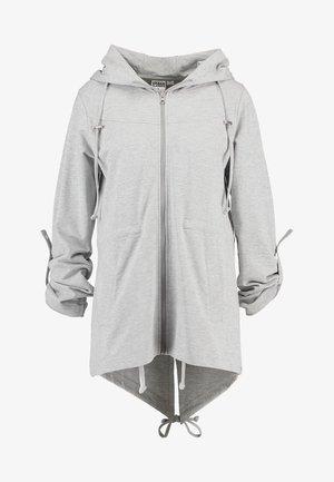 LADIES TERRY  - veste en sweat zippée - grey