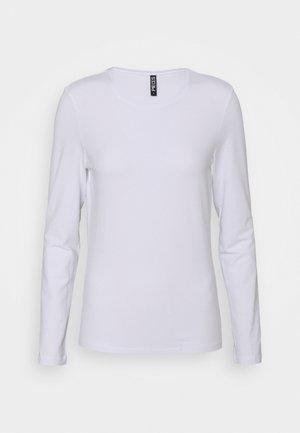 PCSIRENE TEE - Långärmad tröja - bright white