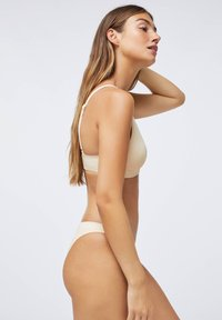 OYSHO - BRAZILIAN  - Bikiniunderdel - white - 3