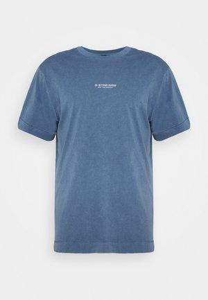 REFLECTIVE LOGO LOOSE OD R T S\S - T-shirt print - blue