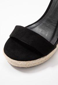ONLY SHOES - Sandales à talons hauts - black - 2