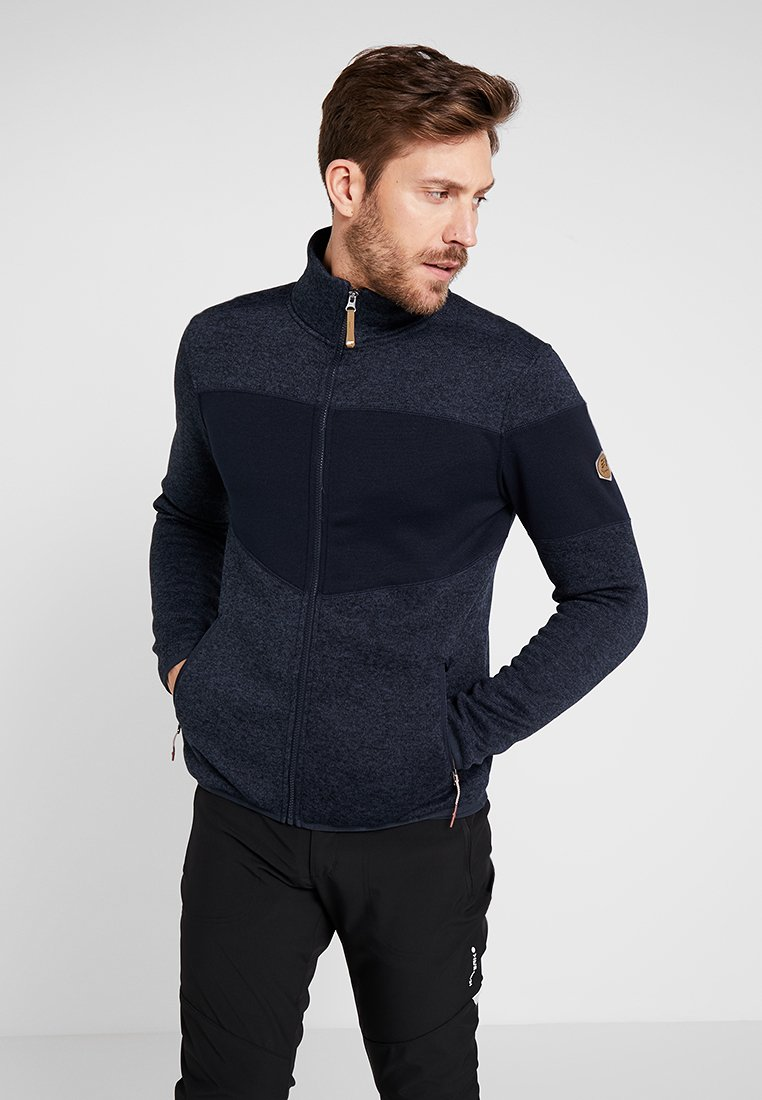 Icepeak - ABBOTT - Fleece jacket - dark blue