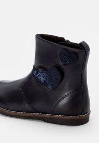Friboo - LEATHER BOOTIES - Botines - dark blue - 5