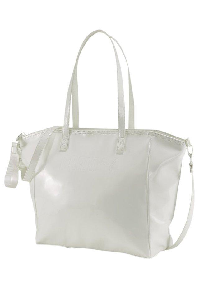 PRIME PREMIUM LARGE WOMEN'S SHOPPER FRAUEN - Across body bag - white