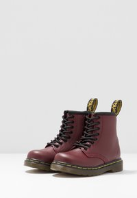 Dr. Martens - 1460 T SOFTY - Korte laarzen - cherry red - 3