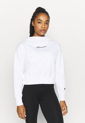 HIGH NECK ROCHESTER - Sweater - white