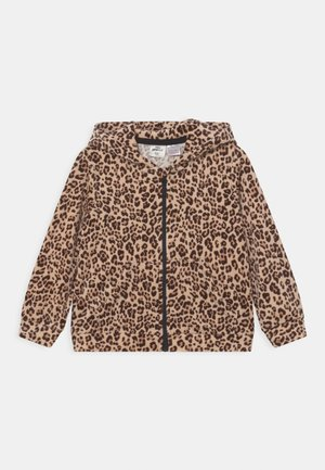 MINI ZIP HOOD - Sweater met rits - brown