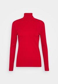 Benetton - TURTLE NECK - Bluzka z długim rękawem - red - 3