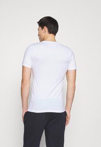 Jack & Jones - JACJONES LOUNGE TEE 3 PACK - Pyjama top - white/navy blazer/dark navy - 2