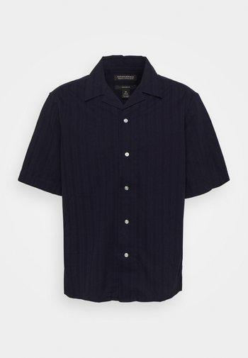 TEXTURE STRIPES - Shirt - navy