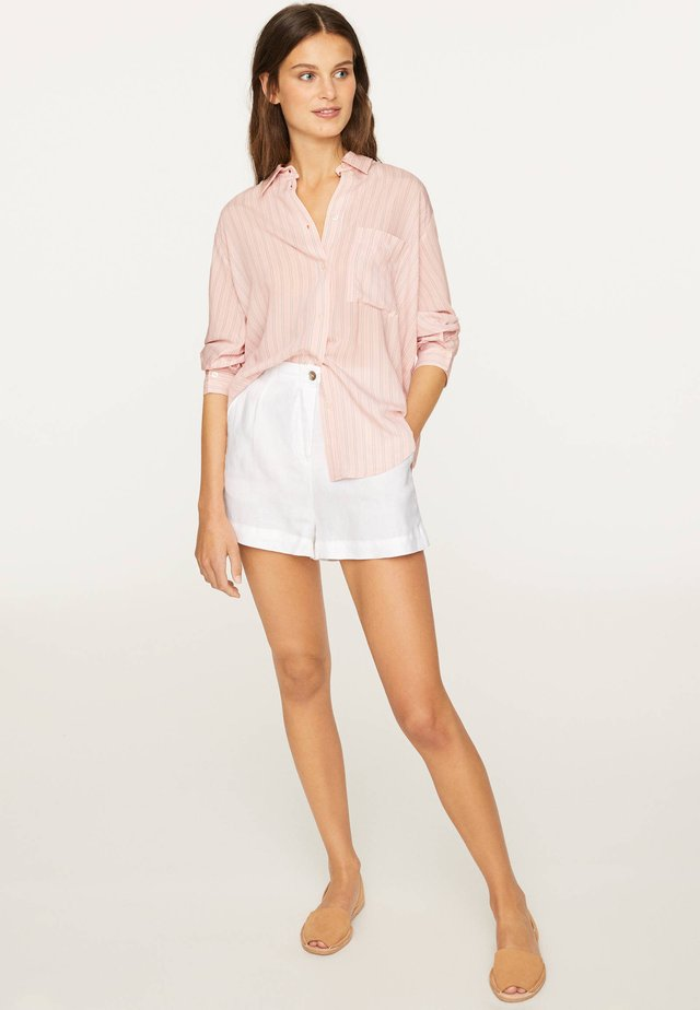 SHIRT WITH PINK STRIPES - Camicia - rose