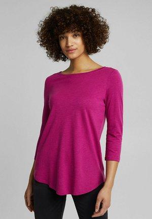 Long sleeved top - dark pink