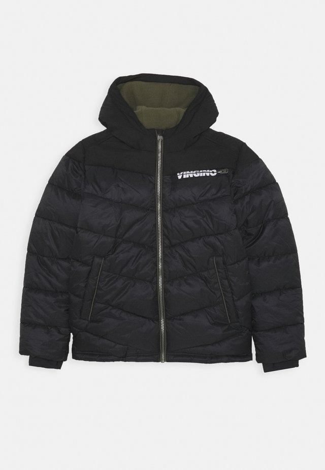 TUGRA - Winter coat - deep black