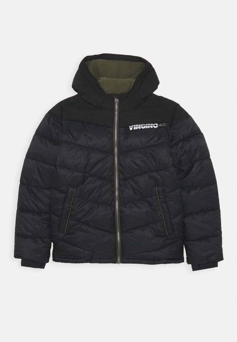Vingino - TUGRA - Winter coat - deep black