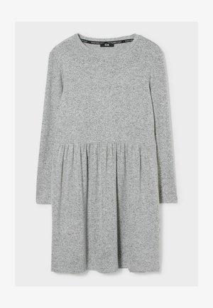 Freizeitkleid - light gray-melange