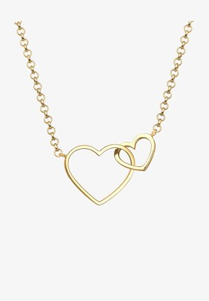 HEART LOVE - Necklace - gold coloured