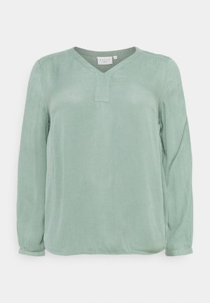 AMI BLOUSE - Blouse - hedge green