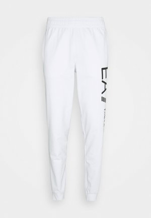 Pantalon de survêtement - white/black