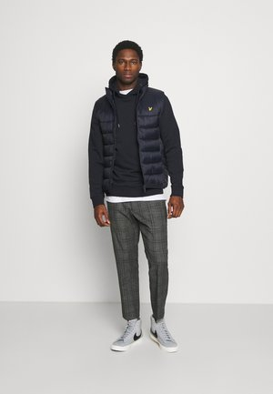WADDED GILET - Chaleco - dark navy